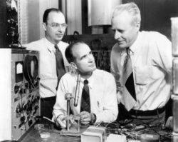 Bardeen, Shockley et Brattain en 1948