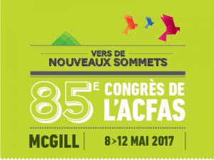 Affiche ACFAS 2017
